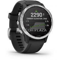 Revenda GPS Montanhismo Portátil - Relógio desporto Garmin fenix 6s Solar silver/black