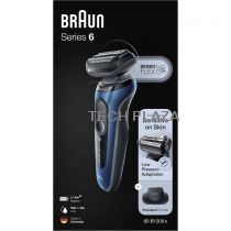 Revenda Máquinas Barbear - Maquina Barbear Braun Series 6 60-B1200s