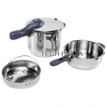 Revenda Panelas e Frigideiras - Conjunto Panelas pressão WMF Perfect Plus Pressure Cooker Set 2pc.