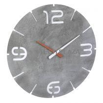 Revenda Relógios Parede - TFA 60.3536.15 Contour Beton-Optik / branco