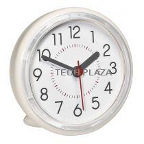 Revenda Relógios Parede - TFA 60.3055.02 Analoge Badezimmeruhr cremebranco