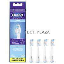 Revenda Higiene Dentária Acessórios - Braun Oral-B Cabeça Escova Dentes Pulsonic Clean 4 pcs.