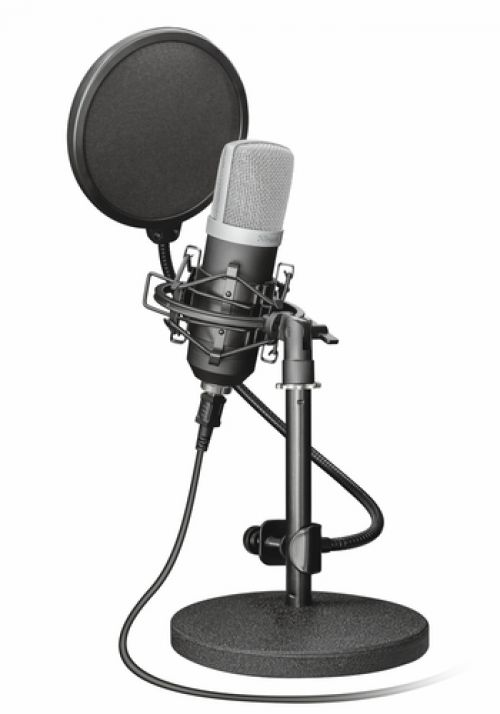 Comprar  - Microfone TRUST Emita USB Studio - 21753