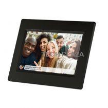 Revenda Molduras Digitais - Moldura Digital Braun DigiFrame  718 WiFi