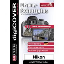 Revenda Protector Ecrã - digiCOVER Hybrid Glas Display protection Nikon Z5