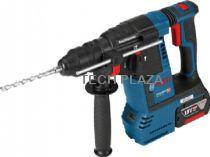 Revenda Martelos perfuradores - Martelo perfurador Bosch GBH 18V-21 Kit L-BOXX Bateria-Martelo perfura
