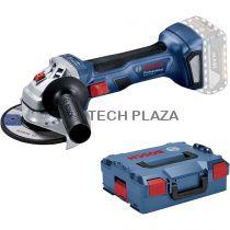 Revenda Rebarbadoras - Rebarbadora Bosch GWS 18V-7 125 mm L-BOXX Bateria-Winkelschleifer