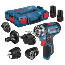 Revenda Aparafusadoras - Aparafusadora Bosch GSB 12V-35 Kit Aparafusadora sem fios