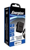 Revenda Outros Acessórios - Carregador Energizer Ultimate Wall Charger 1xUSB + USB-C (1m) black