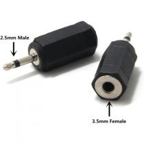 Comprar Acessórios Audio - Adaptador 3,5mm fêmea para 2,5mm macho