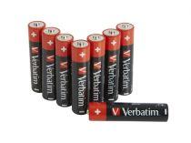 Revenda Pilhas - Pilhas 1x8 Verbatim Alkaline Batterie Micro AAA LR 03            49502