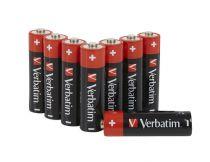 Revenda Pilhas - Pilhas 1x8 Verbatim Alkaline Batterie Mignon AA LR6              49503