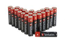Revenda Pilhas - Pilhas 1x24 Verbatim Alkaline Batterie Micro AAA LR 03 PVC Box    4950