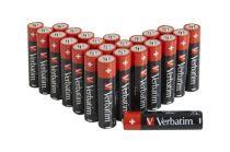 Revenda Pilhas - Pilhas 1x24 Verbatim Alkaline Batterie Mignon AA LR6              4950