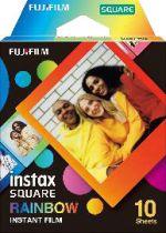 Revenda Filmes para câmaras instantâneas - 1 Fujifilm instax Square Film Rainbow