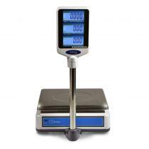 Revenda Balança POS - Balança DDIGITAL VW15/30 15Kg/5Gr 30Kg /10Gr Rs232 c/Bat + Coluna