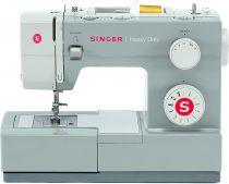 Revenda Máquinas de Costura - Máquina Costura Singer Heavy Duty 4411 branca | Para frente, trás, zig