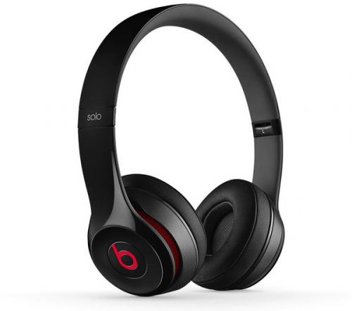 Comprar  - Auscultadores Beats Solo 2 Wired On-Ear Headphones - Preto MH8W2ZM/A