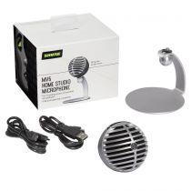 Comprar Microfones - Microfone Shure MV5-DIG Digitales KondensatorMicrofone cinza