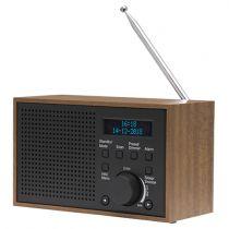 Comprar Rádios / Recetores Mundiais - Radio Denver DAB-46 dark grey