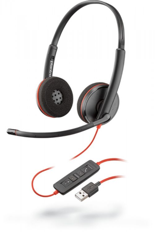 Comprar  - Auscultadores Plantronics Blackwire C3220 Auscultadores On-Ear
