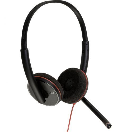 Auscultadores Plantronics Blackwire C3220 Auscultadores On-Ear