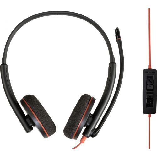 Auscultadores Plantronics Blackwire C3220 Auscultadores USB-A