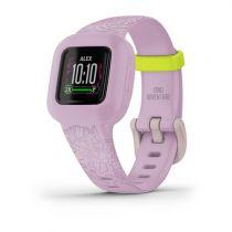 Revenda GPS Corrida / Fitness - Pulseira Fitness Garmin vivofit jr. 3 Lilac Floral