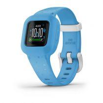 Revenda GPS Corrida / Fitness - Pulseira Fitness Garmin vivofit jr. 3 Azul Stars