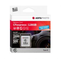Revenda Outros Cartões Memória - Cartão Memória AgfaPhoto CFexpress        128GB Professional High Spee