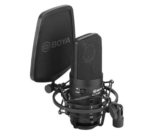 Boya Microfone STUDIO LARGE DIAPHARGM BY-M800