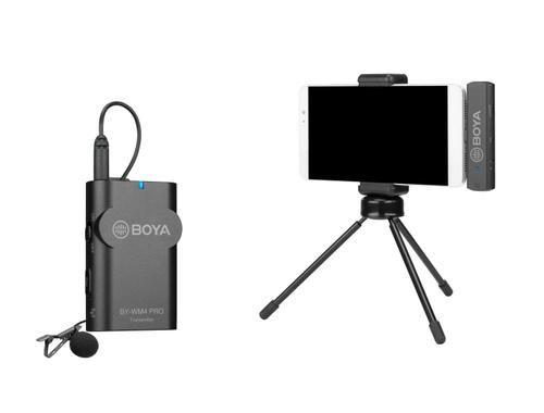 Boya KIT Microfone WIRELESS RECEPTOR+TRANSMISSOR Android