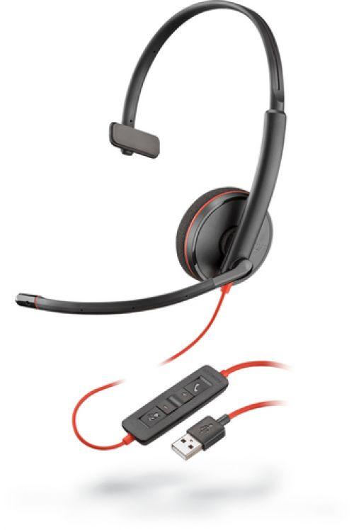 Comprar  - Auscultadores Plantronics Blackwire 3210 On-Ear Auscultadores Cabogeb