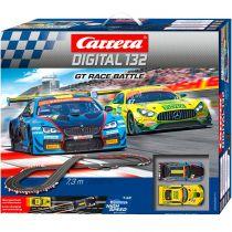 Revenda Pistas e circuitos eléctricos - Pista carros Carrera Digital 132 GT Race Battle          20030011