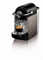 Revenda Máquinas Café Nespresso - Máquina Nespresso Pixie XN304T titan 0,7L | 1.260W | 111 x 235 x 326 m