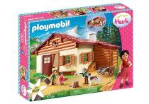Revenda Playmobil - PLAYMOBIL 70253 Heidi na Cabana dos Alpes Heidi 107pcs | 4+