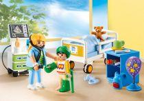 Revenda Playmobil - PLAYMOBIL 70192 Quarto Pediátrico City Life 47pcs   4+