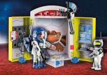 Revenda Playmobil - PLAYMOBIL 70307 Mars Mission Play Box Space 60pcs | 4+