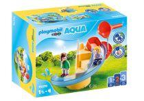 Revenda Playmobil - PLAYMOBIL 70270 Escorrega de agua 1.2.3 6pcs | 18M a 4 anos