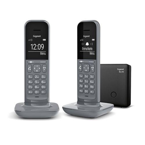Comprar  - Telefone sem fios SIEMENS GIGASET CL390 DUO  (L36852-H2902-D203)