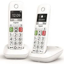 Revenda Telefones DECT sem Fios - Telefone fixo sem fios GIGASET E290 DUO TECLAS GRANDES 150 CONTACTOS b