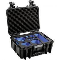 Revenda Bolsas p/ Câmaras Desporto - B&W GoPro Case Type 3000 B Preto + GoPro 9 Inlay
