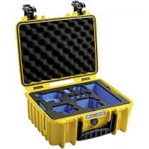 Revenda Bolsas p/ Câmaras Desporto - Mala B&W GoPro Case Type 3000 Y yellow + GoPro 9 Inlay