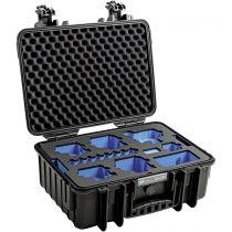 Revenda Bolsas p/ Câmaras Desporto - B&W GoPro Case Type 4000 B Preto + GoPro 9 Inlay