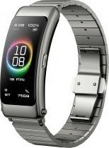 Revenda Smartwatch - Smartwatch Huawei TalkBand B6 preto Elite (pulseira metal) in Titanium