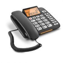 Comprar Telefones Fixos Analógicos - Telefone fixo Gigaset DL580 preto Analog | Com fios | Mãos-livres: sim
