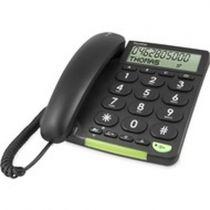 Comprar Telefones Fixos Analógicos - Telefone fixo Doro PhoneEasy 312cs preto Analog | Com fios | Mãos-livr