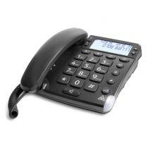 Comprar Telefones Fixos Analógicos - Telefone fixo Doro Magna 4000 preto Analog | Com fios | Mãos-livres: s