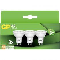 Revenda Lâmpadas LED - 1x3 GP Lighting LED Reflector GU10 3,7W              GP 087427