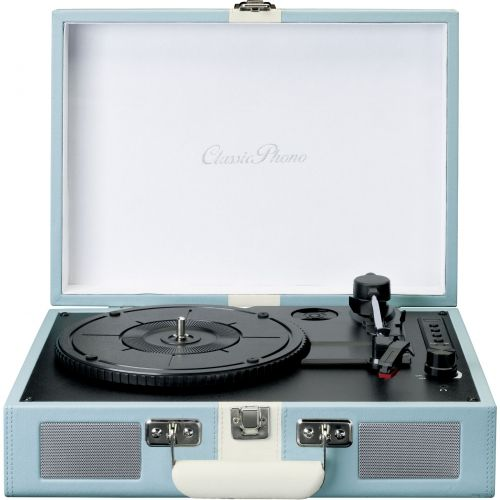 Comprar  - Giradiscos Lenco TT-110 blue/white